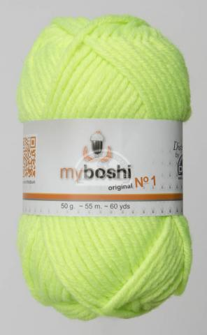 Myboshi  185 neon yellow