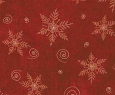Tessuti americani Christmas Whimsy 25210-red1